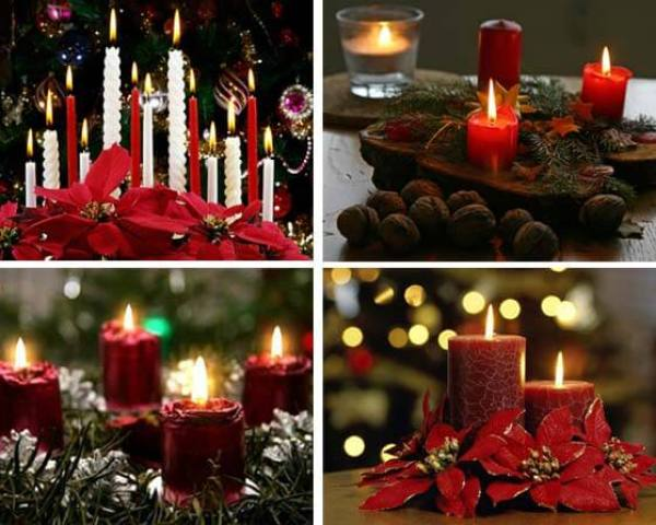 Christmas Candles Decorating Ideas-Decorating Christmas Ideas Tips ...