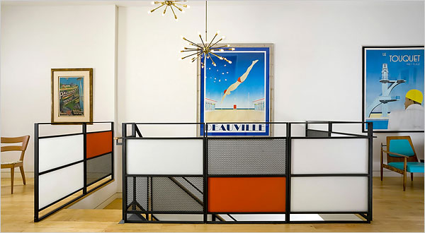 design in mondrian style interior design design news and architecture trends. Black Bedroom Furniture Sets. Home Design Ideas