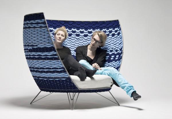 Oversized Modern Chair from Ola Gillgren \u2013 Interior Design
