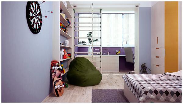 children-modern-bedroom-design
