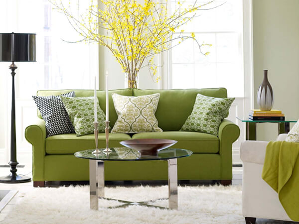 green-sofa-living-room