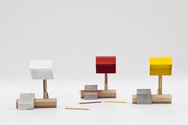 wooden desk lamps