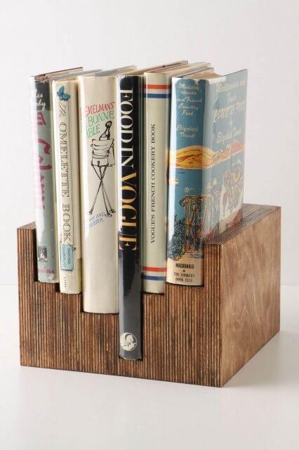 traditional-books-on-vintage-holder