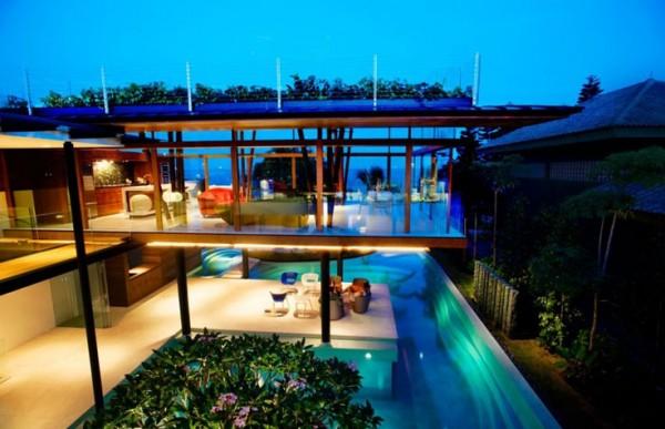 Fish-House-Guz-Architects-swimming-pool-night-view