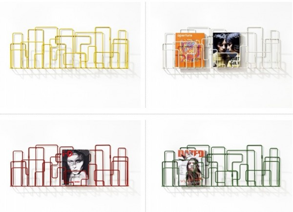 magazine-rack-with-colorful-units