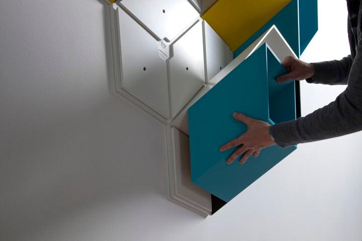 box-shelv