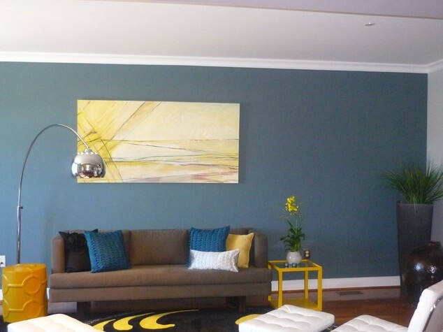 Accent-wall-for-living-room