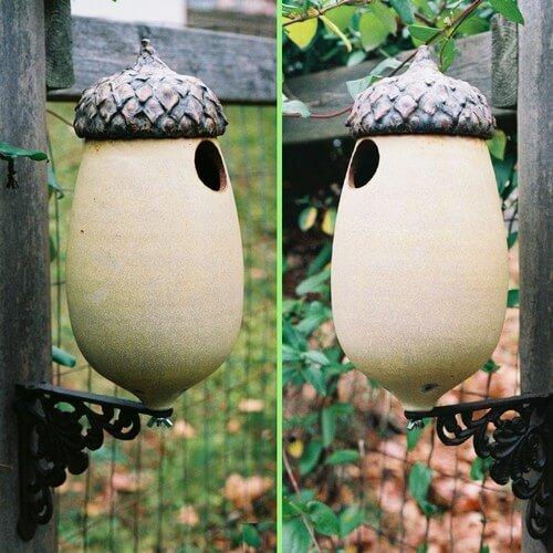 Eclectic-ceramic-birdhouse