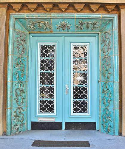 exterior-wood doors-with-glass-panels