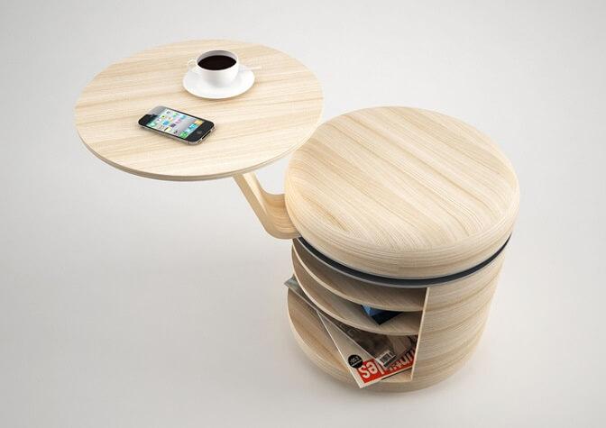 Tandem-stool-by-Geoffrey-Graven