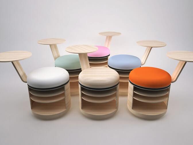 Tandem-stool-prototype