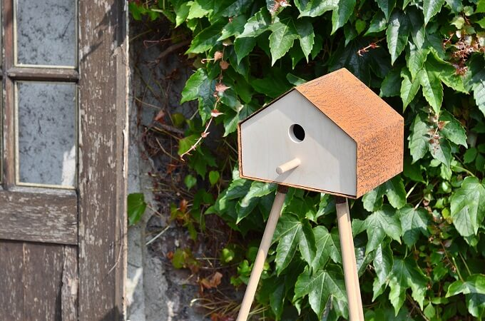 Wooden-birdhouse