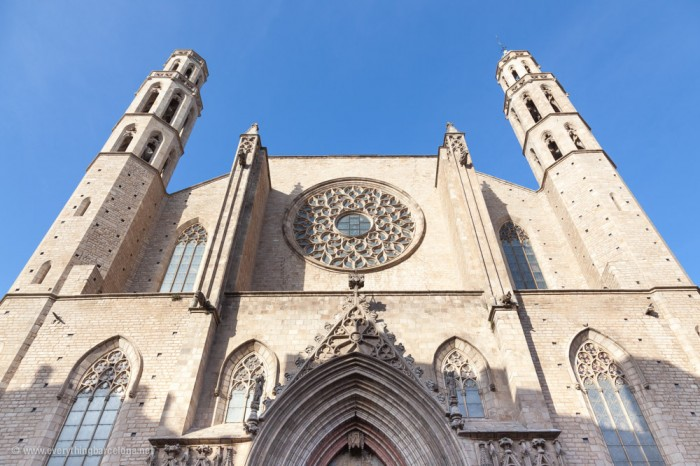 Gothic-Church-Santa-Maria-del-Mar