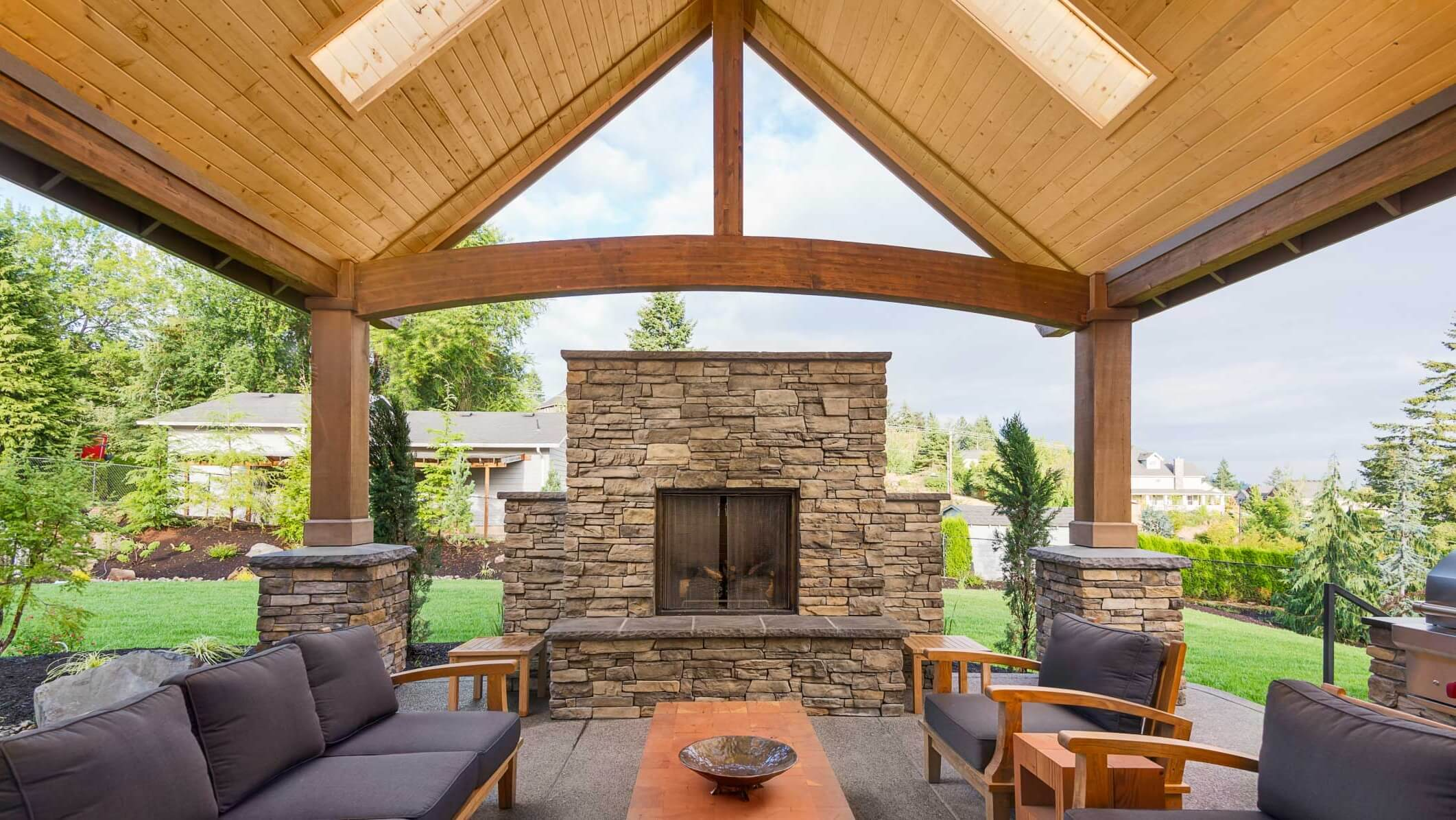 Make Your Patio Perfect with the Right Roof - Interior ... on Open Backyard Ideas id=51015