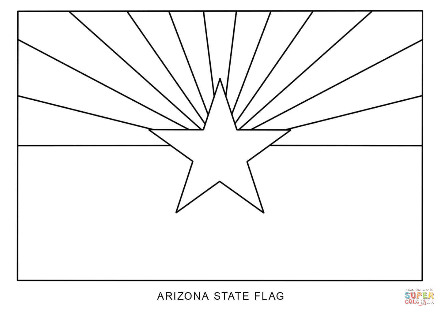 Download Arizona Coloring For Free