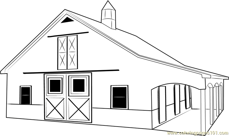 barn coloring download barn coloring for free