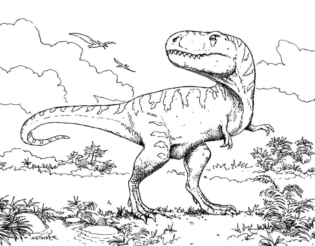 Download Extinct Coloring For Free
