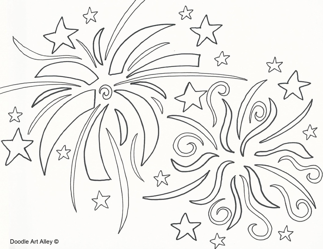 Fireworks Coloring Download Fireworks Coloring For Free