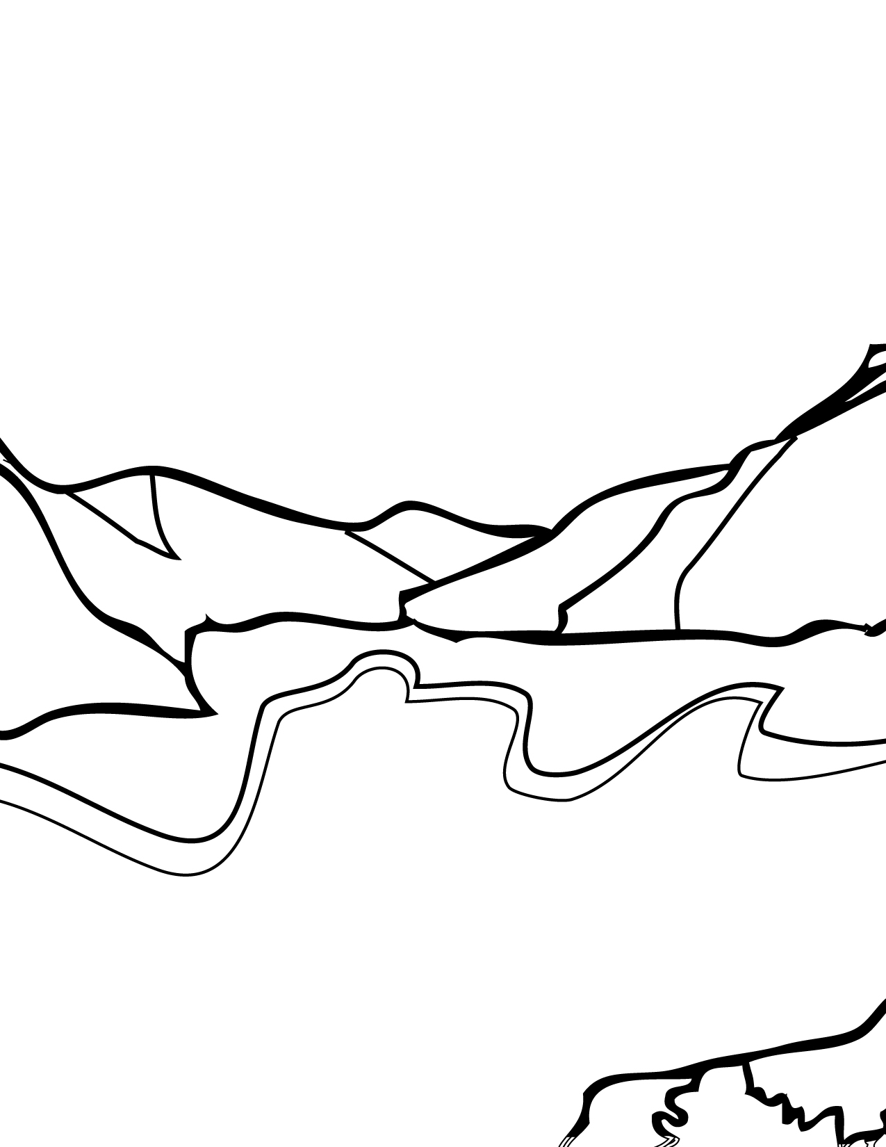Download Glacier Coloring For Free