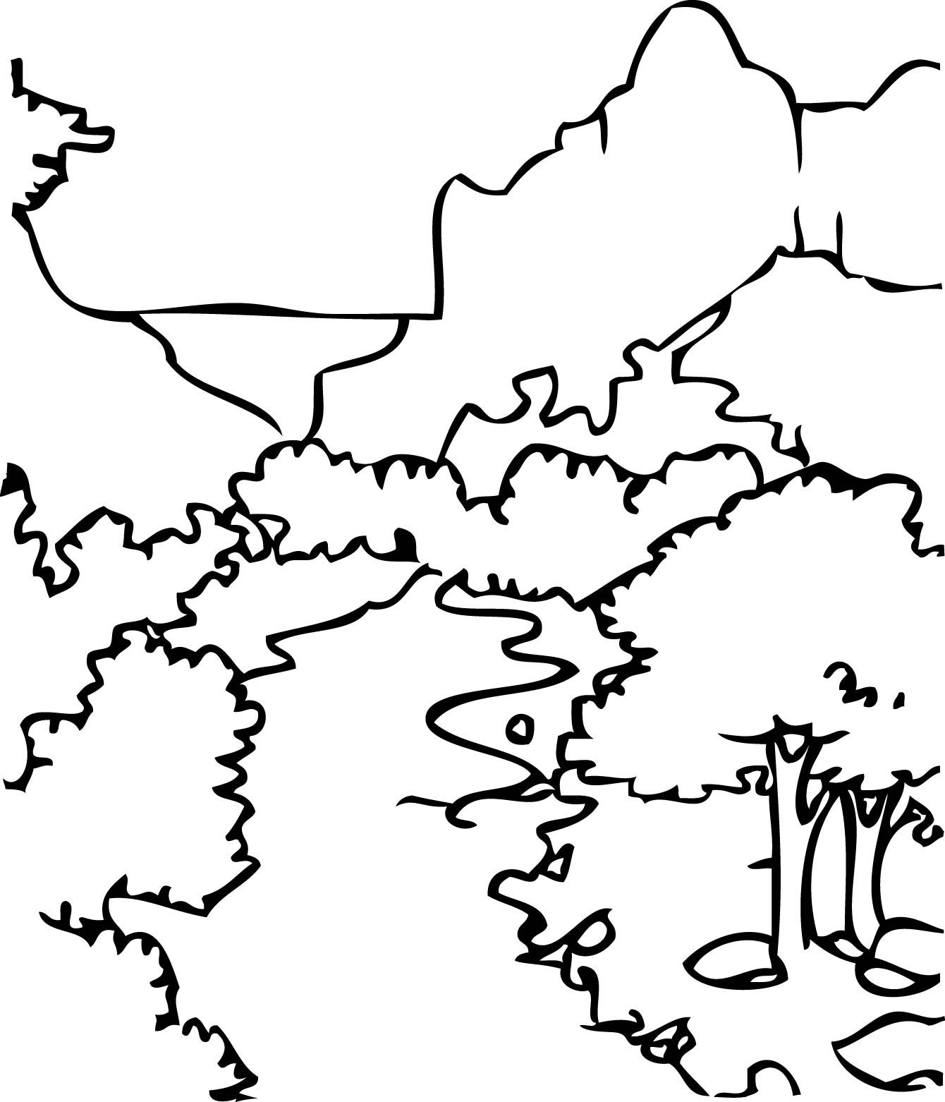 Download Zion National Park Coloring For Free