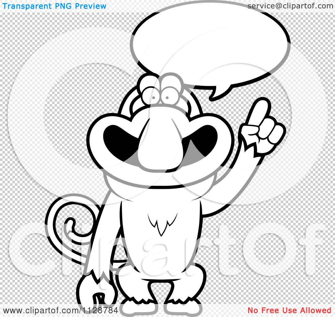 Proboscis Monkey Coloring Download Proboscis Monkey Coloring