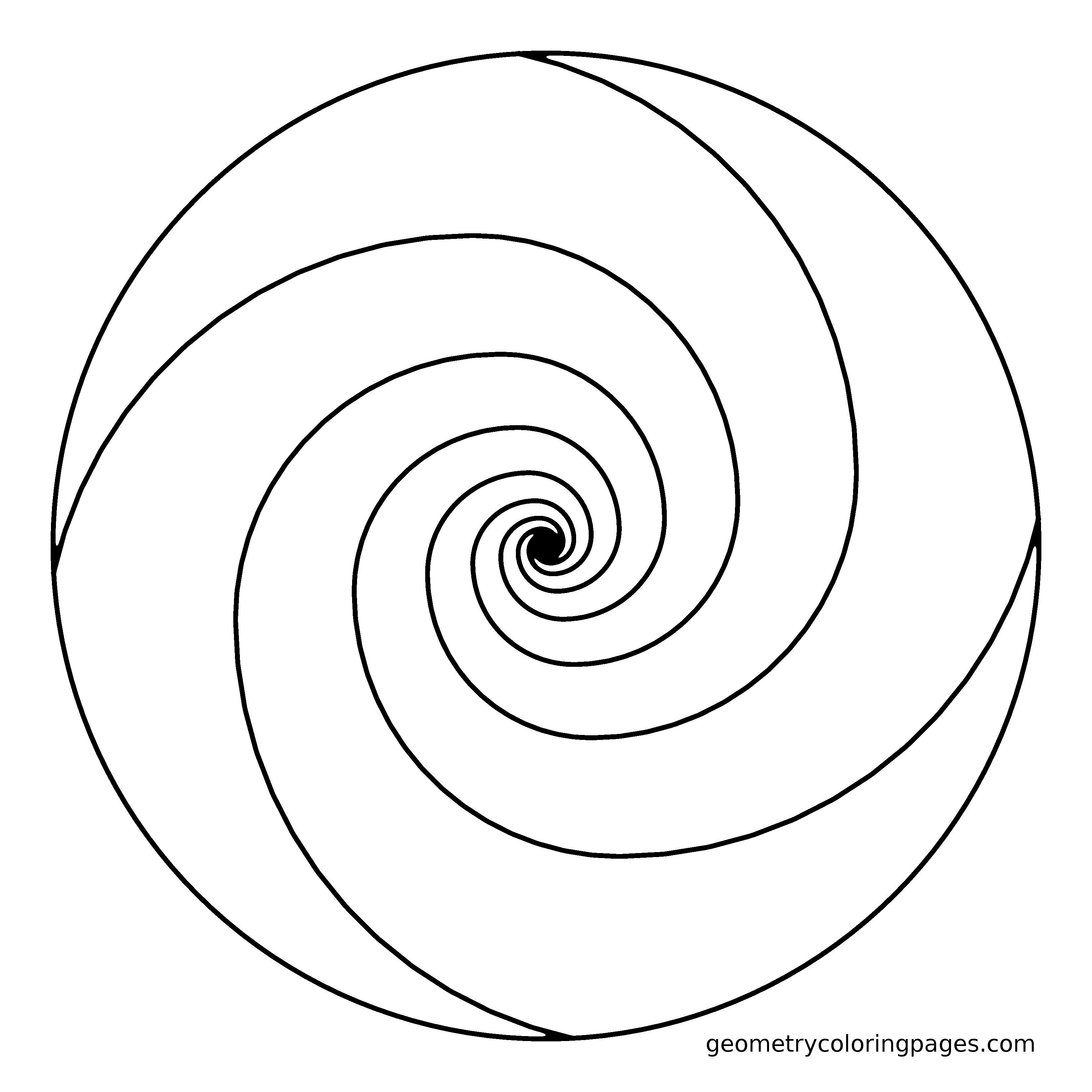 Spiral Coloring Download Spiral Coloring For Free