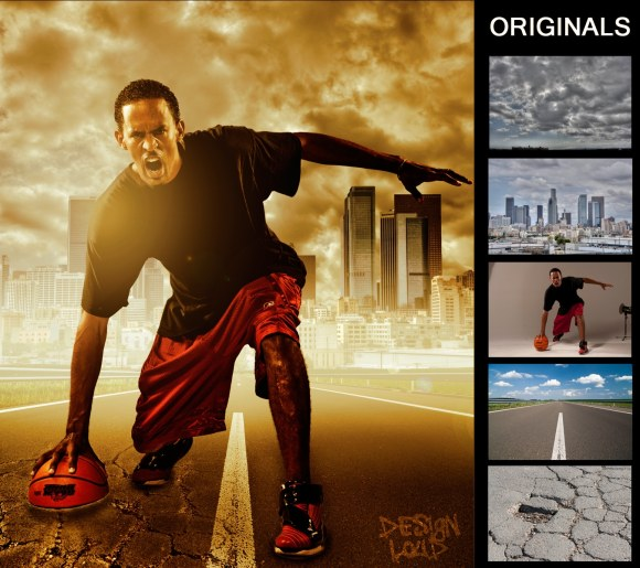 graphic design - photoshop composite