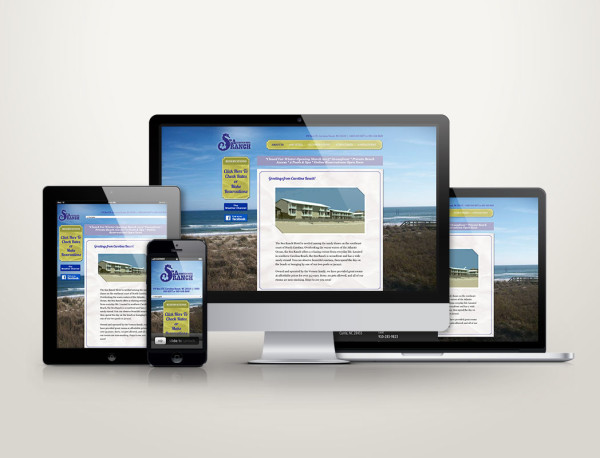 Sea Ranch Motel - Web Design