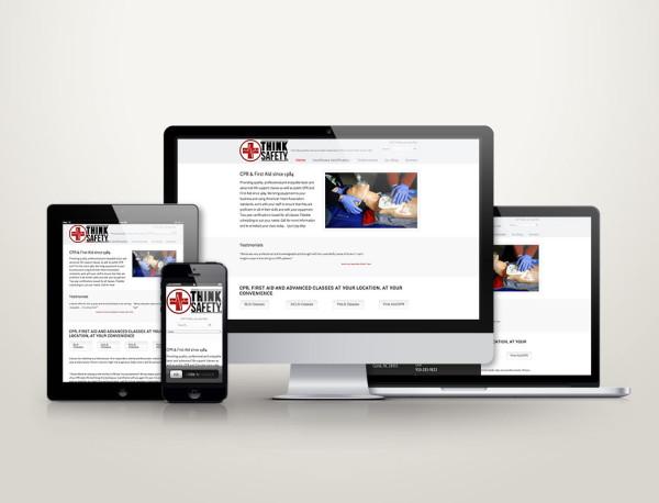Think Safety LLC - Web Design