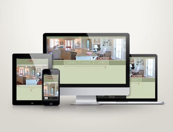 Hagood Homes - Web Design
