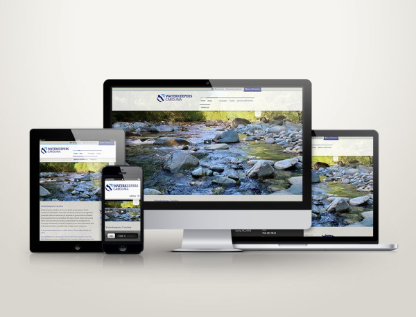 Waterkeepers Carolina - Web Design