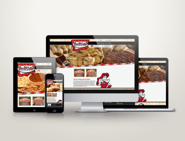 Bar-B-Cutie - Web Design