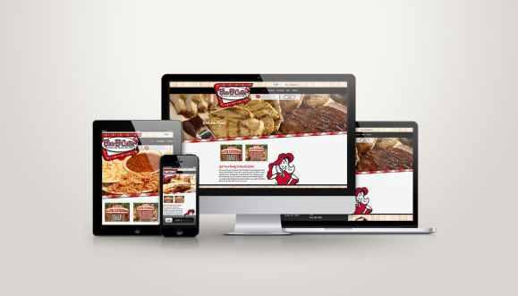 Bar-B-Cutie - Web Design