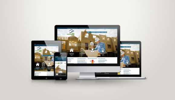 High Performance Home Program - Web Design