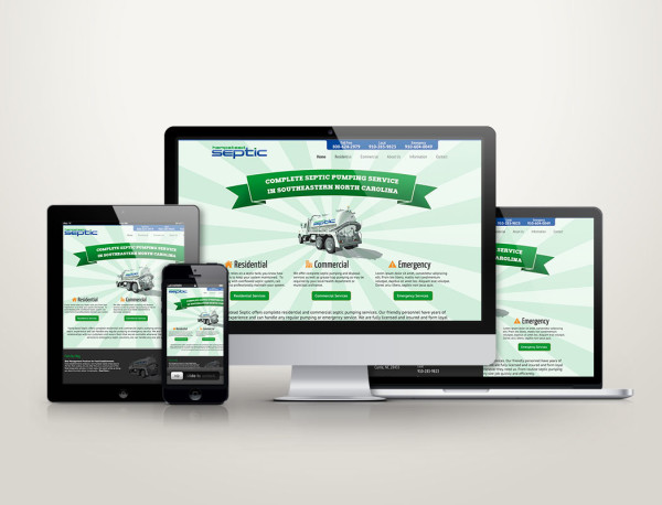 Hampstead Septic - Web Design