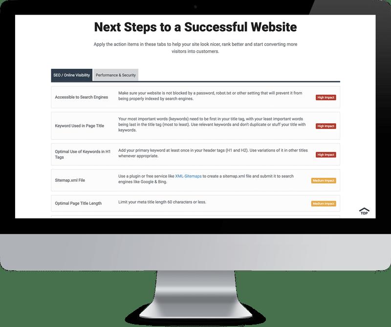 Website SEO Audit Next Steps to Successful Website