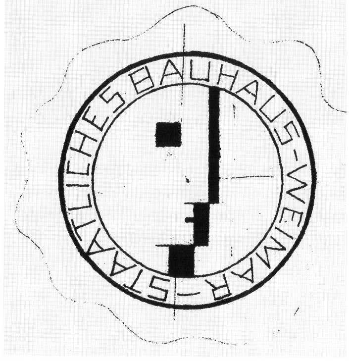 Design Luminy Bauhaus-Logo-Schlemmer-1922 Chronologie Bauhaus Chronologies Histoire du design Références    Design Marseille Enseignement Luminy Master Licence DNAP+Design DNA+Design DNSEP+Design Beaux-arts