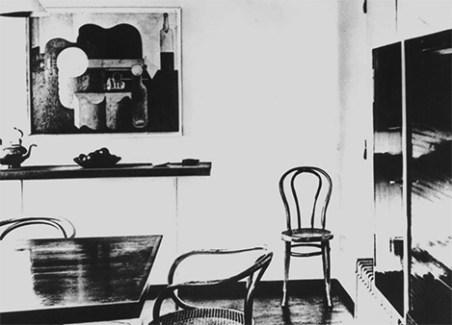 Design Luminy Pavillon-esprit-Nouveau-Le-Corbusier-Thpnet-1925 Chaise Thonet n°14 - 1859 - Michael Thonet (1796-1871) Histoire du design Icônes Références  Thonet n°14 Thonet