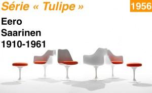 Design Luminy Série-Tulipe-1956-Eero-Saarinen-1910-1961-2 Série Tulipe 1956 Eero Saarinen 1910-1961 2