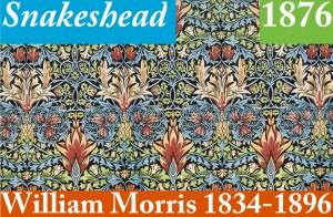 Design Luminy Snakeshead-1876-William-Morris-1834-1896-2 Snakeshead 1876 William Morris 1834 1896 2