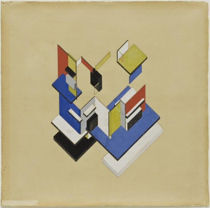 Design Luminy  «De Stijl» Manifeste V  : – ☐ + = R4 Histoire du design Références Textes  Theo van Doesburg Manifeste De Stijl