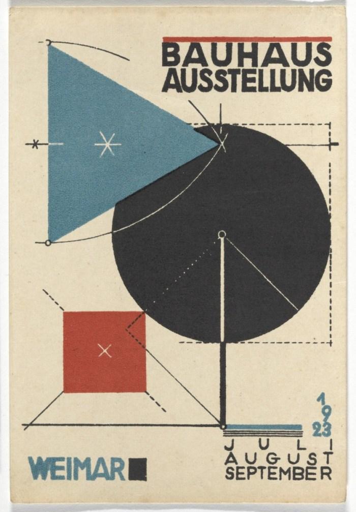 Design Luminy cri_000000322122 Oskar Schlemmer – Manifeste de la première exposition du Bauhaus – 1923 Histoire du design Références Textes  Oskar Schlemmer Bauhaus