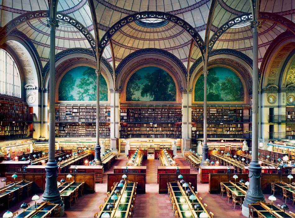 Design Luminy Bibliotheque-Sainte-Genevieve-1851-Henri-Labrouste-1801-1875-2 Aperçu rapide    Design Marseille Enseignement Luminy Master Licence DNAP+Design DNA+Design DNSEP+Design Beaux-arts
