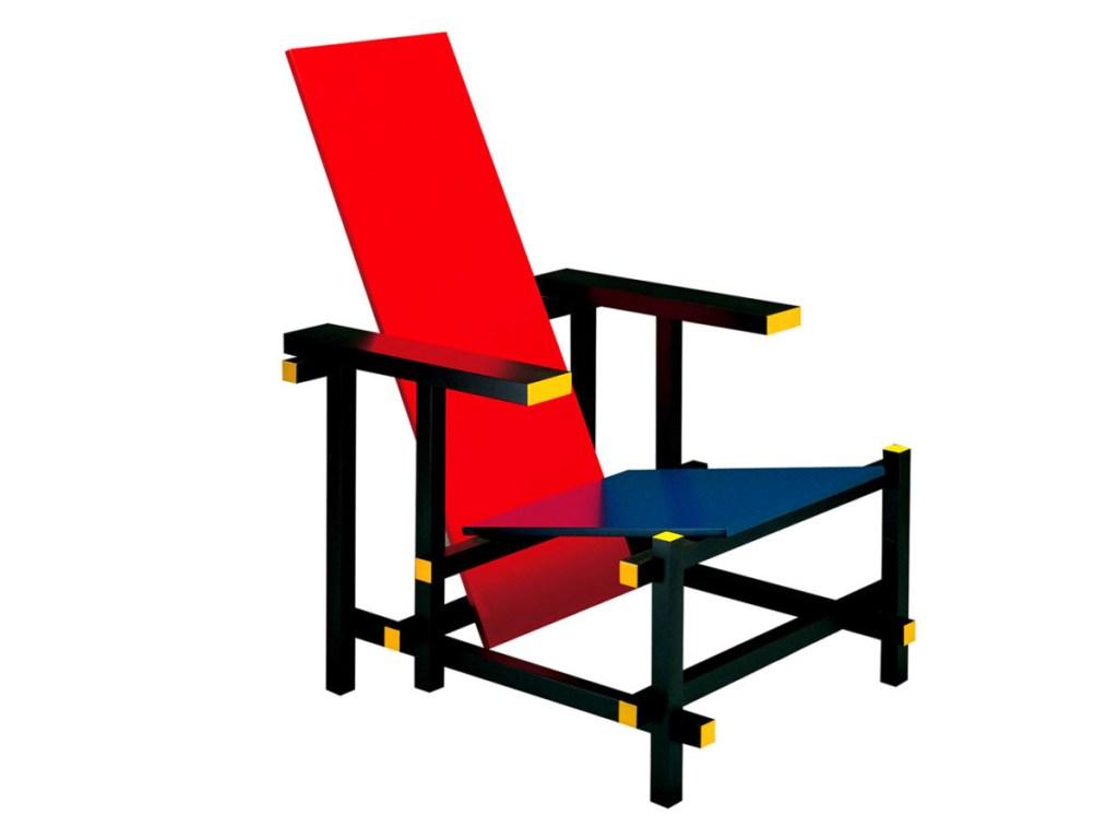 Design Luminy rietveld_red_blue Fauteuil rouge et bleu (1923) - Gerrit Rietveld (1888-1964) Histoire du design Icônes Références  red & blue chair Gerrit Rietveld   Design Marseille Enseignement Luminy Master Licence DNAP+Design DNA+Design DNSEP+Design Beaux-arts
