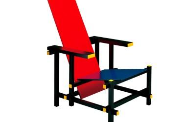 Design Luminy rietveld_red_blue Fauteuil rouge et bleu (1923) - Gerrit Rietveld (1888-1964) Icônes Références  red & blue chair Gerrit Rietveld   Design Marseille Enseignement Luminy Master Licence DNAP+Design DNA+Design DNSEP+Design Beaux-arts