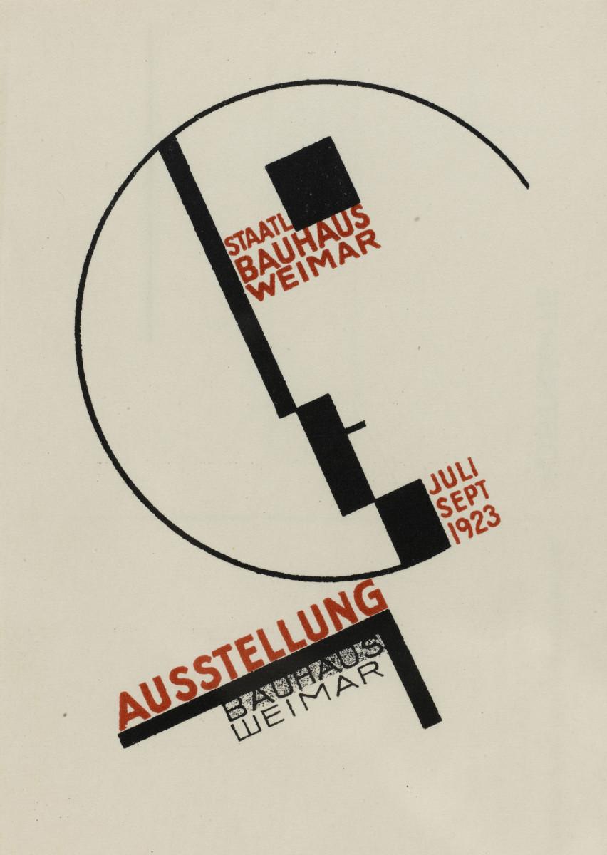 Design Luminy Dörte-Helm-Carte-postale-issue-d'un-ensemble-de-20-lithographies-1923 Chronologie Bauhaus