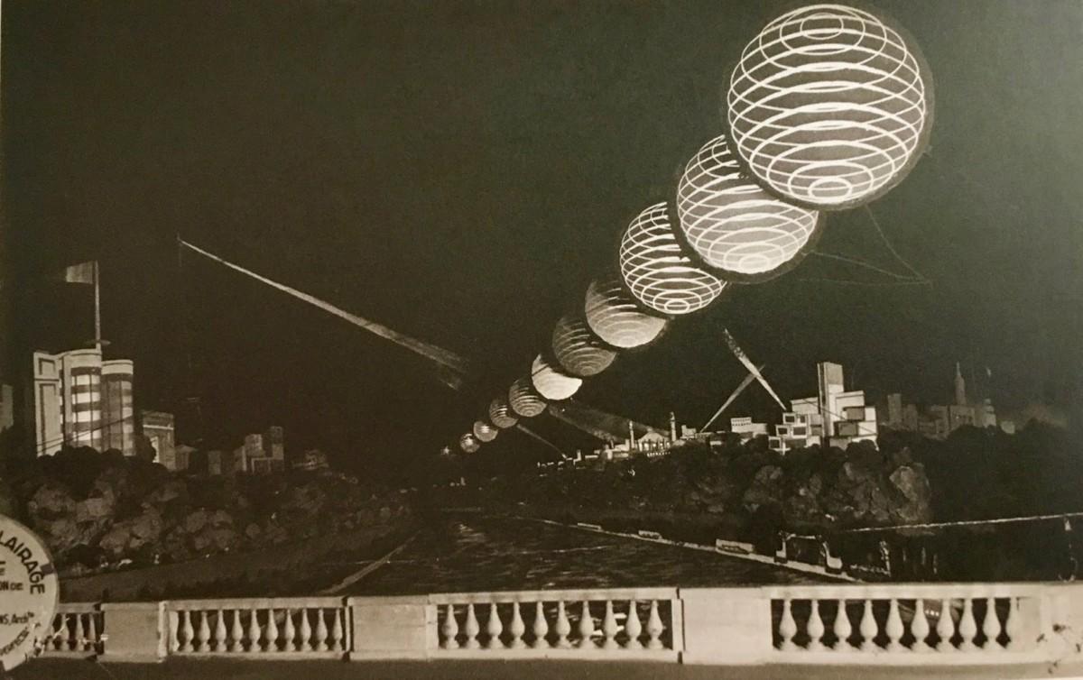 Design Luminy Projet-éclairage-de-la-Seine-1937 Robert Mallet-Stevens – Éclairage et architecture moderne Histoire du design Références Textes  Robert Mallet-Stevens