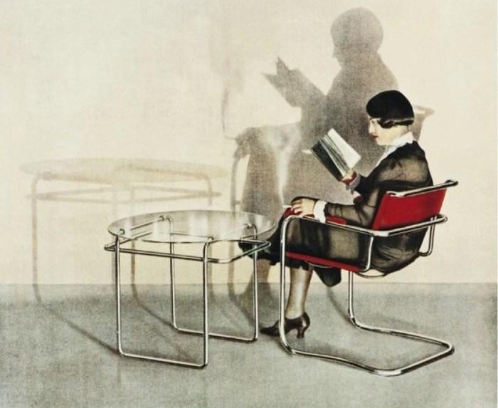 Design Luminy Thonet Pour en finir avec le meuble d'artiste – Mart Stam – 1928 Histoire du design Références Textes  Weißenhof Rationalisation préfabrication Mart Stam
