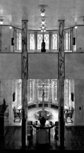 Design Luminy palais-stoclet-hall-165x300 Robert Mallet-Stevens – Sur le Palais Stoclet Histoire du design Icônes Références Textes  Robert Mallet-Stevens Palais Stoclet Josef Hoffmann Bruxelles