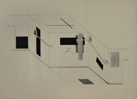 Design Luminy 8ae3cbefdd6bab295e4d2f737f96bf87 Proun Raum (1923) - El Lissitzky (1890-1941) Histoire du design Références  Proun Raum Proun El Lissitsky Constructivisme